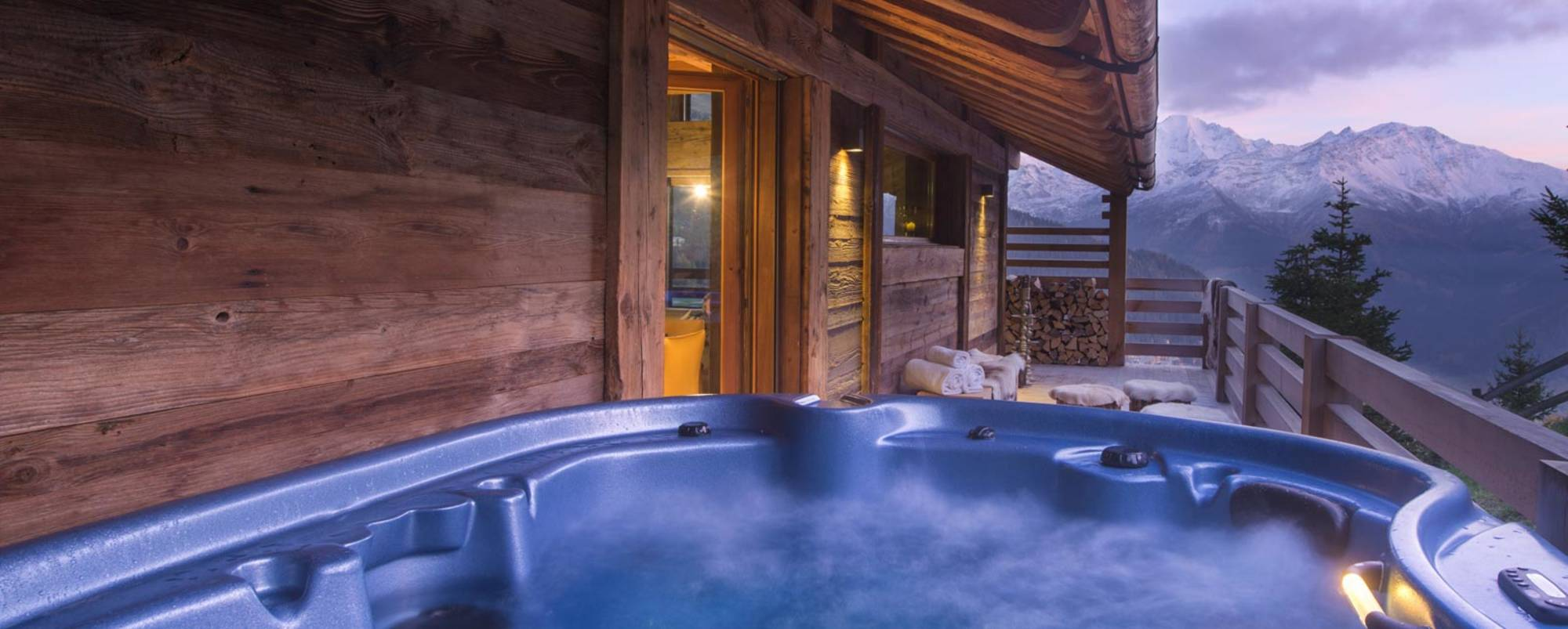 Aplin Roc hot tub - Verbier